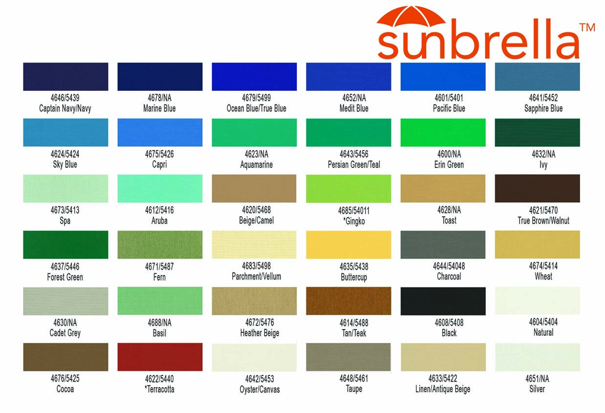 Sunbrella Fabric Colors 28 Images Sunbrella Fabric