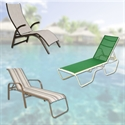 Picture for category Commercial Sling Chaise Lounges