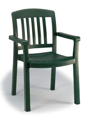 Pool Furniture Supply Dining Chair Plastic Resin Atlantic