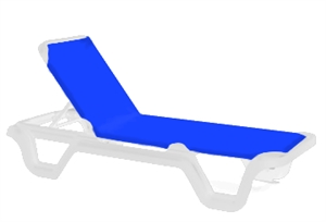 Pool Furniture Supply Chaise Lounge Sling Plastic Resin