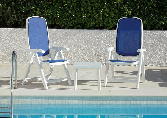 Pool Furniture Supply. Delta Sling Plastic Resin Folding