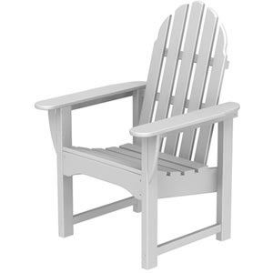 Pool Furniture Supply Adirondack Dining Chair Recycled Plastic