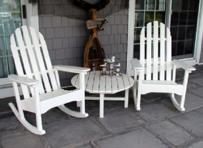 Pool Furniture Supply Adirondack Rocking Chair Recycled