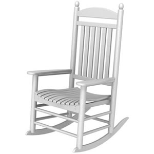 Pool Furniture Supply Rocker Chair Recycled Plastic Polywood Jefferson