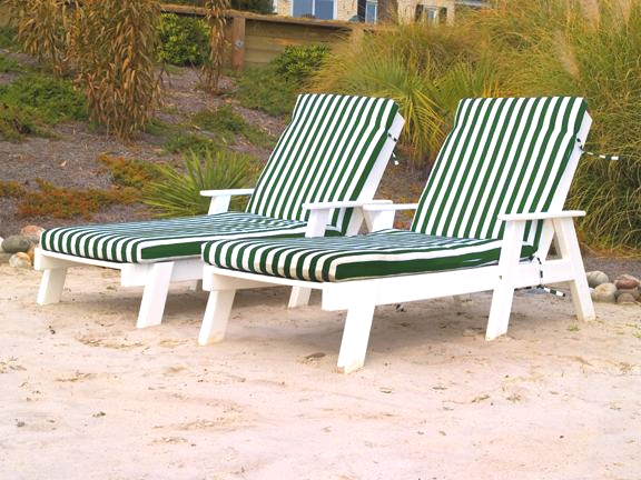 Pool Chaise Lounge Cushions: Pool Furniture Supply. Full Cushion Chaise Lounge Polywood