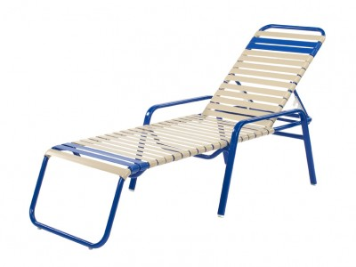 Pool Furniture Supply Chaise Lounge With Arms Vinyl