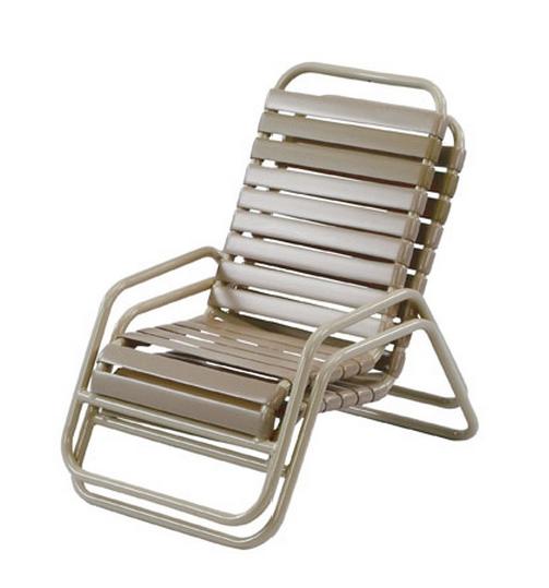 Pool Furniture Supply Sand Chair Vinyl Strap Aluminum