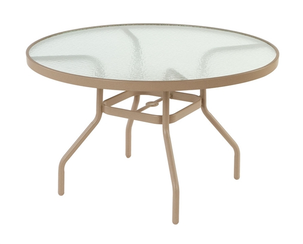 Pool Furniture Supply Dining Table 42 Inch Round Acrylic