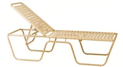 Pool Furniture Supply Chaise Lounge Senior Vinyl Straps