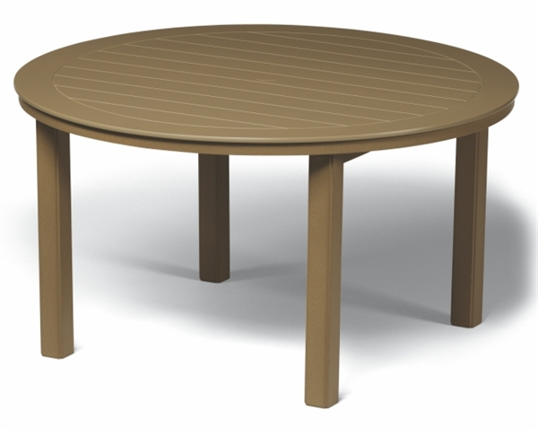 Pool Furniture Supply Dining Table 54 Inch Round Marine Grade Polymer