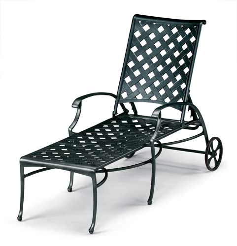 Pool Furniture Supply Chaise Lounge Cast Aluminum
