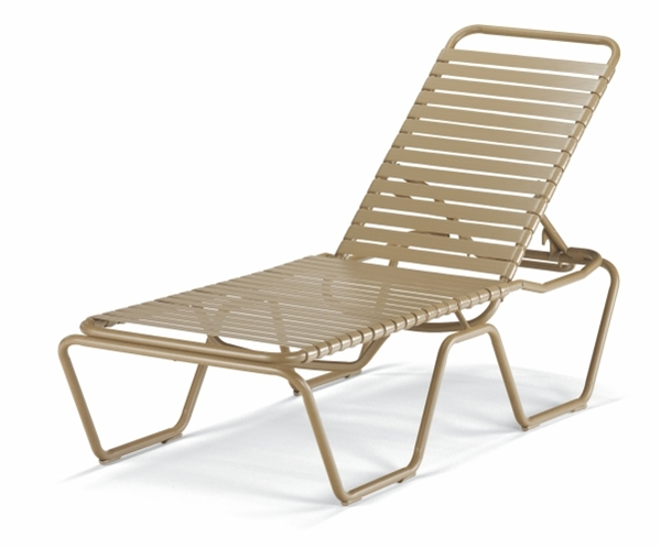 Document moved for Aluminum strap chaise lounge