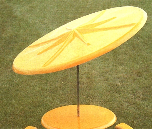 Pool Furniture Supply Umbrella 7 1 2 Foot Round