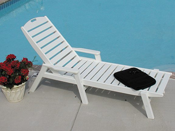 Pool Furniture Supply. Chaise Lounge Recycled Plastic Polywood ...