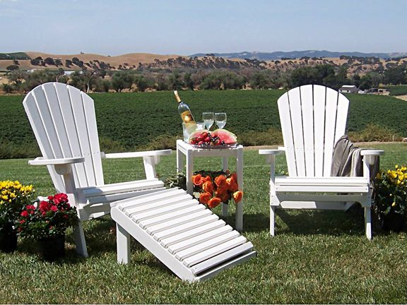 Pool Furniture Supply Adirondack Chair Recycled Plastic