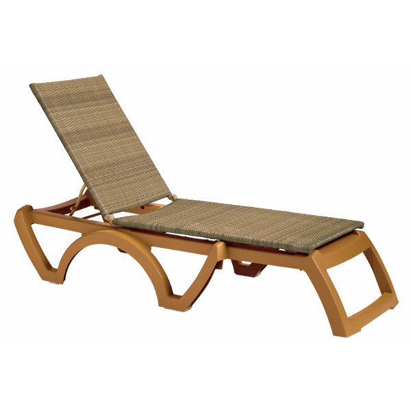 pool furniture supply java all weather wicker chaise lounge plastic resin