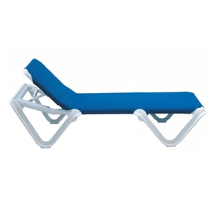 pool furniture supply chaise lounge frame sling plastic resin nautical