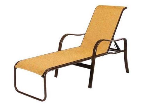 Pool Furniture Supply Sonata Chaise Lounge Sling Fabric