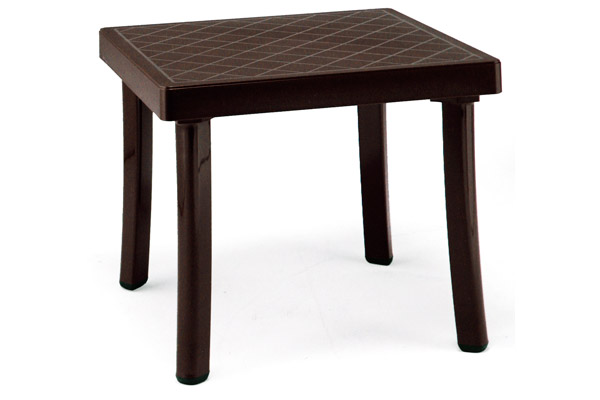 Pool furniture supply rodi 18 inch square side table for 12 inch end table