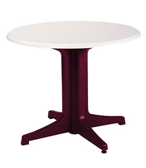 Pool Furniture Supply 36 Round Melamine Table Top With