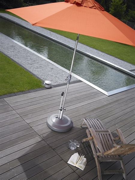 Pool Furniture Supply Midi 130 Lb 24 Round Umbrella Base