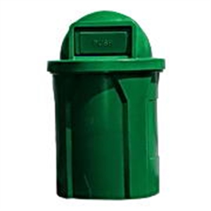 Pool Furniture Supply 42 Gallon Pool Deck Trash Can With