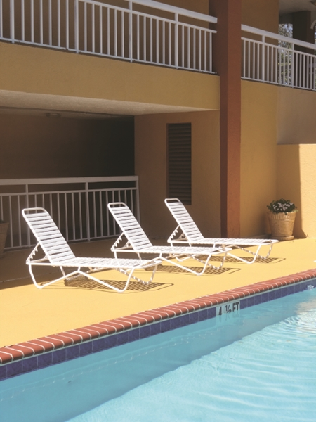 Pool Furniture Supply Quick Ship Pool Furniture Commercial St Lucia Chaise Lounge Vinyl Straps
