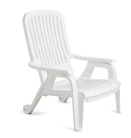 Pool Furniture Supply Bahia Plastic Resin Deck Chair