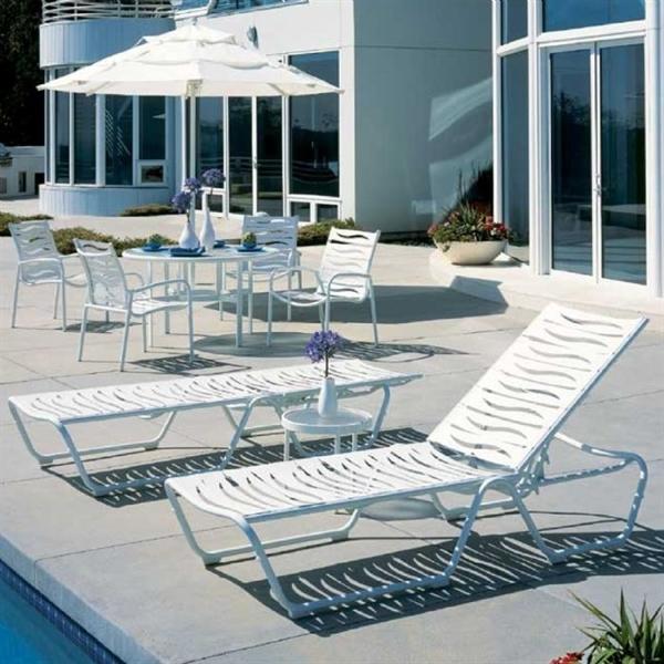 Pool Furniture Supply Tropitone Millennia Ez Span Armless