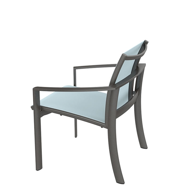 Pool Furniture Supply Tropitone Kor Relaxed Sling Dining
