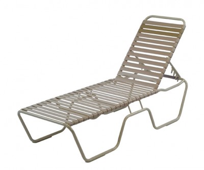 Pool furniture supply st maarten beach chaise lounge for Aluminum frame chaise lounge