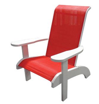 Pool Furniture Supply Sling Adirondack Chair With Marine