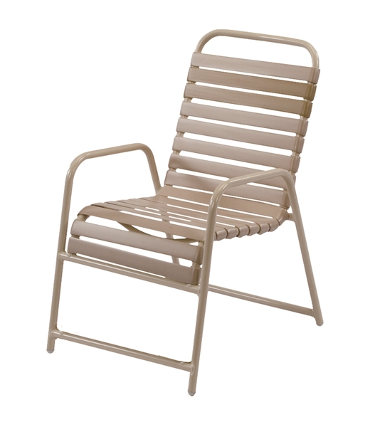 Pool Furniture Supply St Maarten Dining Chair Vinyl
