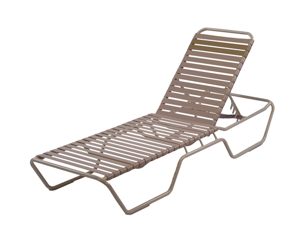 Pool Furniture Supply Extended Bed St Maarten Chaise Lounge Vinyl Straps Wi