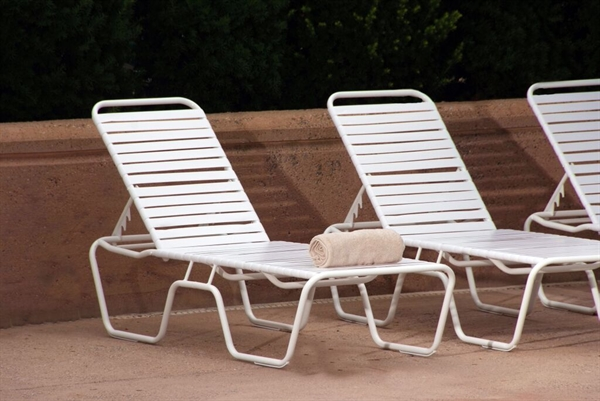 pool furniture supply promo pool furniture st maarten vinyl strap commercial chaise lounge. Black Bedroom Furniture Sets. Home Design Ideas