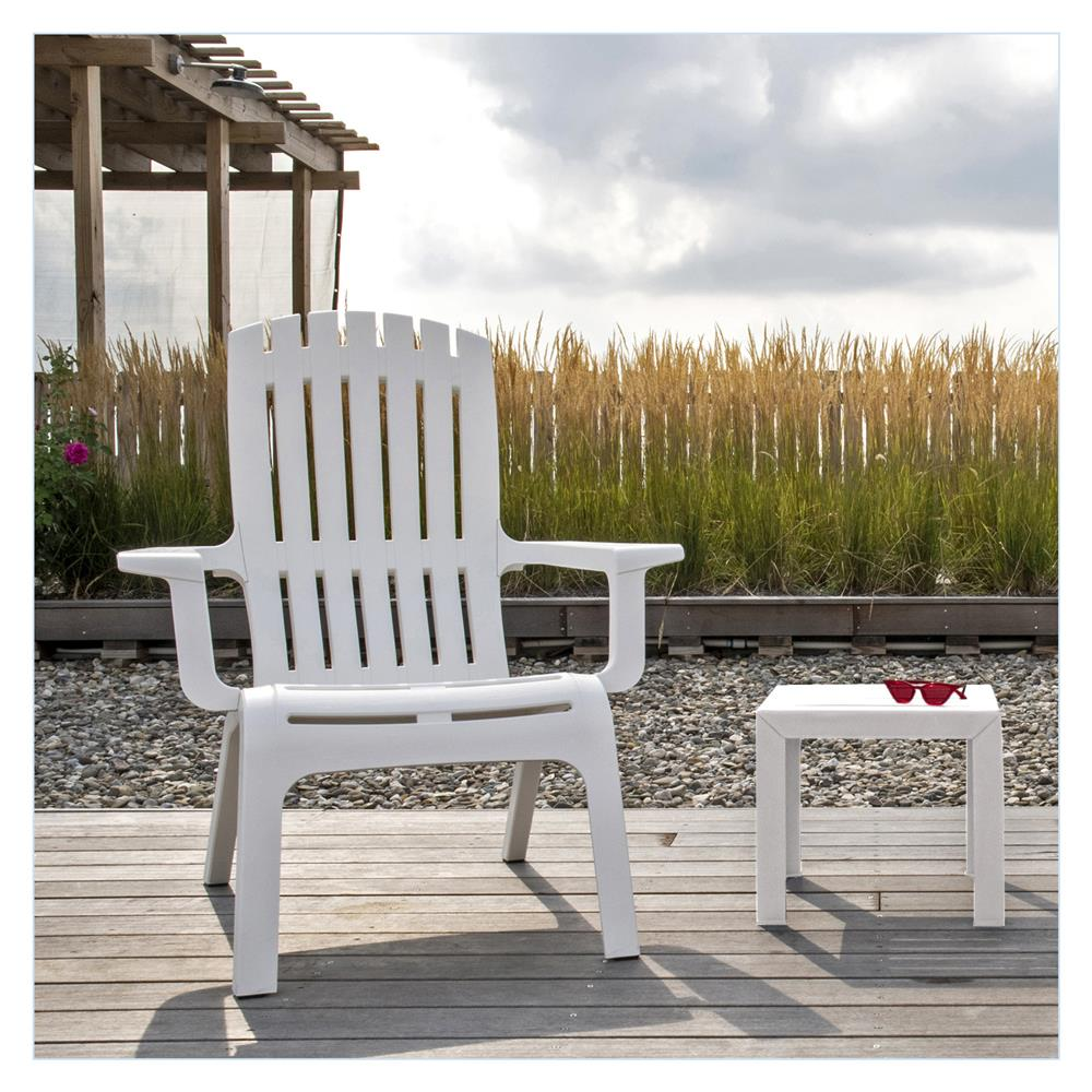 Westport Adirondack Chair with Bahia Side Table