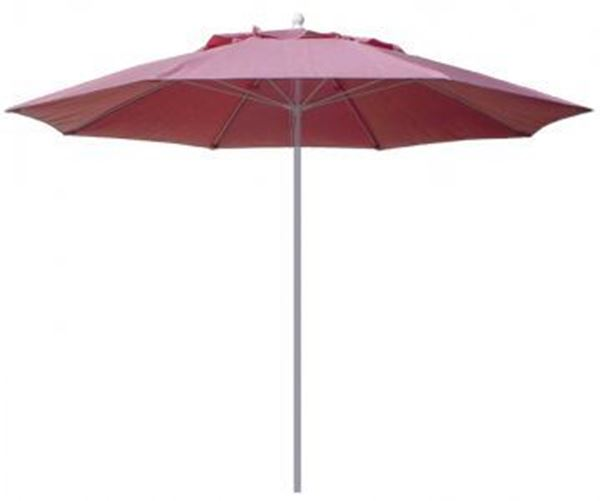 Picture of Fiberbuilt Market Umbrella 11 Foot Octagon with One Piece Powder Coated Pole and Marine Grade Fabric