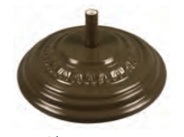 Fiberbuilt Fiberglass Molded 125 lb Umbrella Base 27 Inch Diameter