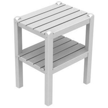 Picture of POLYWOOD® Two Shelf Side Table Recycled Plastic