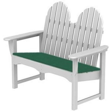 Picture of Polywood Cushion Adirondack 48 Inch Bench Seat Cushion Only