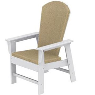 Picture of Polywood Cushions South Beach Dining Chair Full Cushion Only