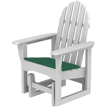 Picture of Polywood Cushions Adirondack Glider Chair Seat Cushion Only