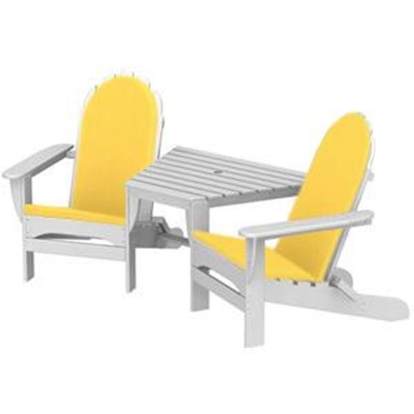 Polywood Cushions Adirondack Tete-A-Tete Full Cushion Only