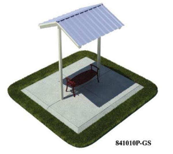 9' x 8'  Foot All-Steel Mini Shelter