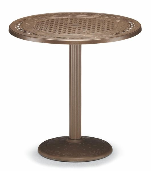 Counter Table 36 Inch Round Cast Aluminum Pool Furniture Supply - What Height Chairs For 36 Inch Table