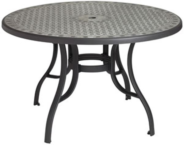 Cordoba 48 Round Table With Metal Legs 44 Lbs