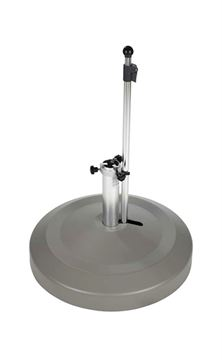 "Picture of Midi 24"" Round Portable Umbrella Base with Wheels, 130 lbs."