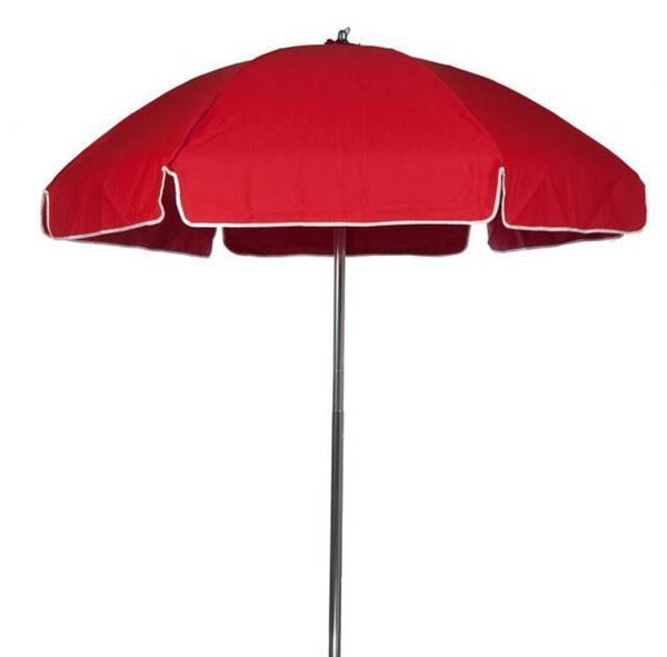 6 5 Foot Diameter Steel Beach Umbrella With Acrylic Canopy