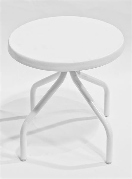 Quick Ship Pool Furniture Tea Table 18 Inch round Fiberglass ...