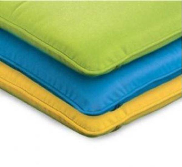 Polywood Cushions Adirondack Curve Back Ottoman Cushion Only